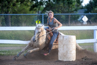 2015-07-31 Serburne Round Up Riders Barrel Race in Elk River